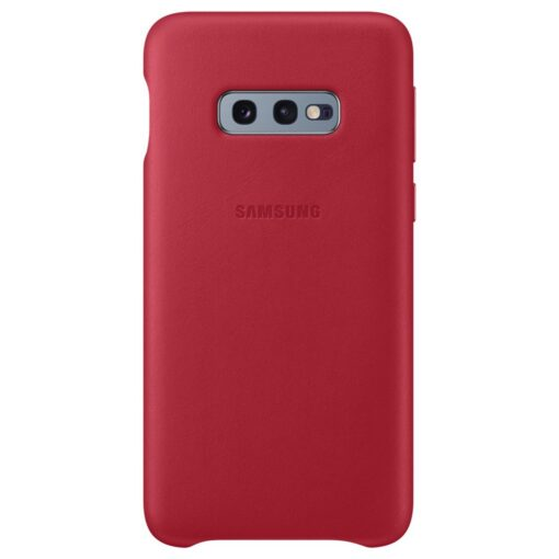 Samsung S10e nahast kaaned punased