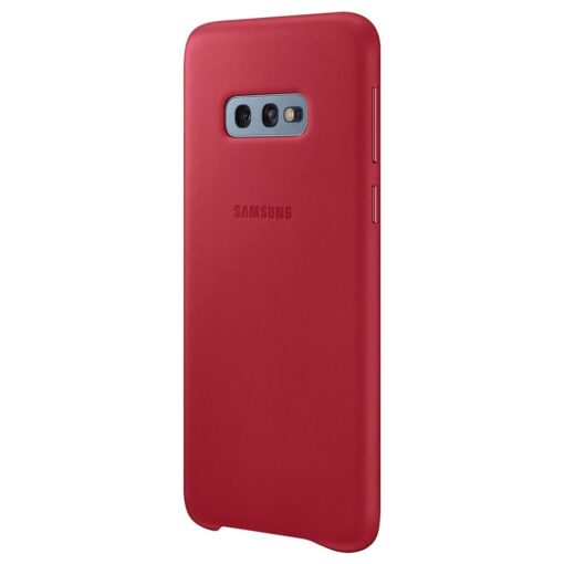 Samsung S10e punased nahast kaaned EF VG970LREGWW