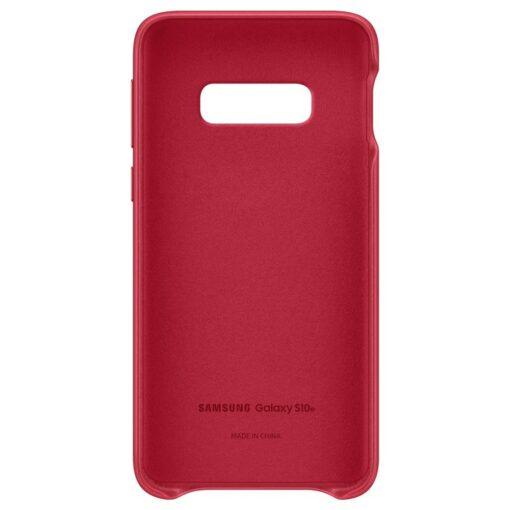 Samsung S10e punased nahast kaaned EF VG970LREGWW seest