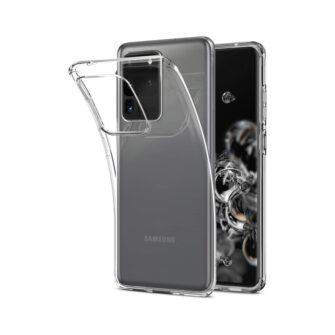 Samsung S20 Ultra ümbris silikoonist läbipaistev