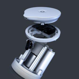 Seebidosaator automaatne patareidega Baseus 14