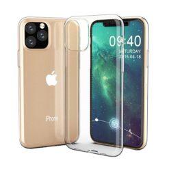 iPhone 11 Pro kaaned silikoonist läbipaistvad