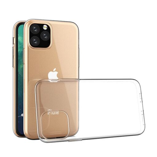 iPhone 11 Pro kaaned silikoonist läbipaistev 3 2