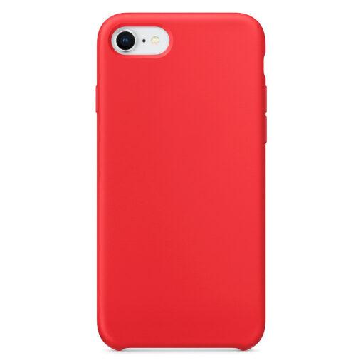 iPhone SE 2020 8 ja 7 silikoonist kaaned punased