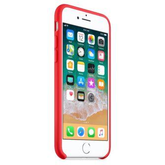 iPhone SE 2020 iPhone 8 iPhone 7 silikoonist kaaned punased 4
