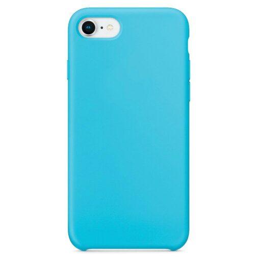 iPhone SE 2020 iPhone 8 ja iPhone 7 pehmest silikoonist helesinine ümbris 2