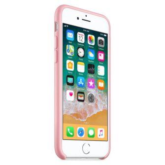 iPhone SE 2020 iPhone 8 ja iPhone 7 pehmest silikoonist roosa ümbris 3