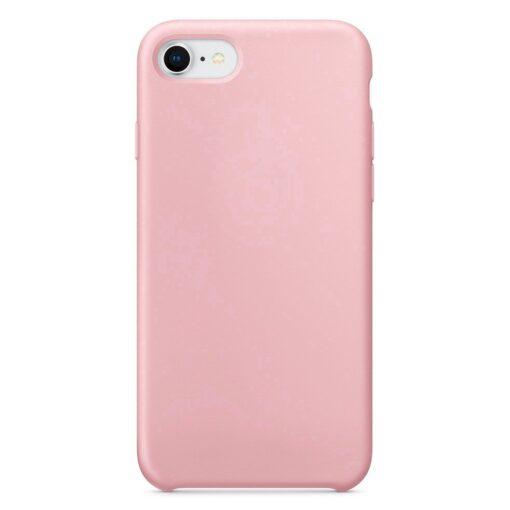 iPhone SE 2020 iPhone 8 ja iPhone 7 pehmest silikoonist roosa ümbris 4
