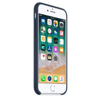 iPhone SE 2020 iPhone 8 ja iPhone 7 pehmest silikoonist tumesinine ümbris 4