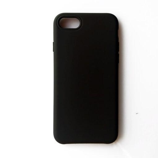 iPhone Se 2020 iPhone 8 ja iPhone 7 silikoonist kaaned must