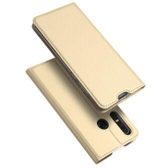 Huawei P30 Lite Kaaned kaarditaskuga Dux Ducis kuld 1