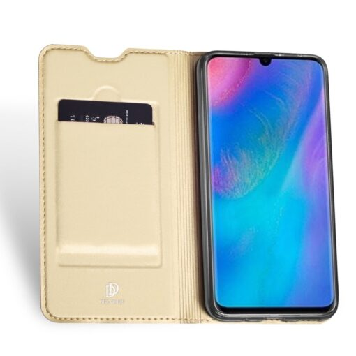 Huawei P30 Lite Kaaned kaarditaskuga Dux Ducis kuld 3