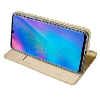 Huawei P30 Lite Kaaned kaarditaskuga Dux Ducis kuld 5