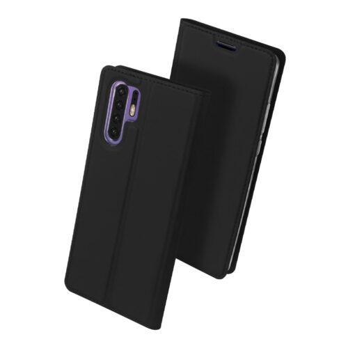 Huawei P30 Pro kaaned nahast musta värvi DUX DUCIS 2