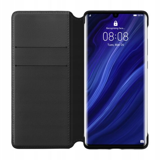 Huawei P30 Pro musta värvi kaaned kaarditaskuga Huawei Originaal kaaned 2