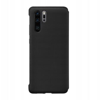 Huawei P30 Pro musta värvi kaaned kaarditaskuga Huawei Originaal kaaned 4