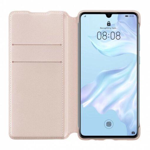 Huawei P30 kaaned flip roosa originaal 2