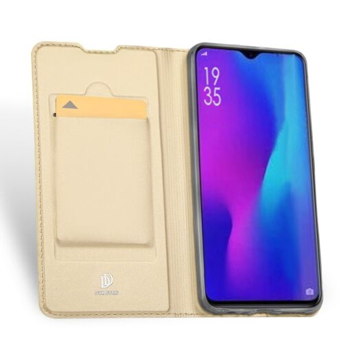 Huawei P30 kaaned kaarditaskuga DUX DUCIS kuldset värvi 2