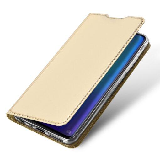 Huawei P30 kaaned kaarditaskuga DUX DUCIS kuldset värvi 3