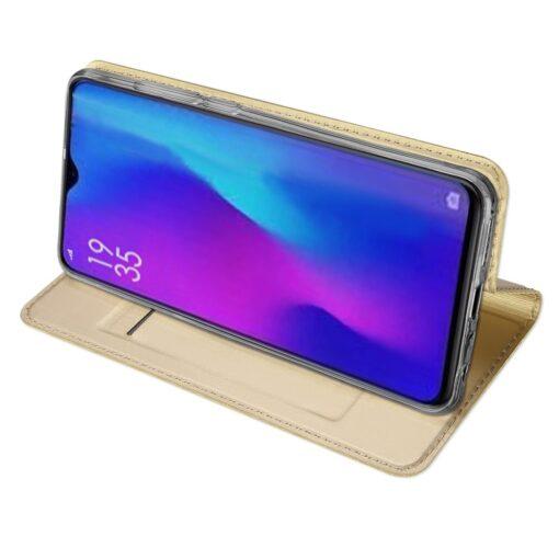 Huawei P30 kaaned kaarditaskuga DUX DUCIS kuldset värvi 4