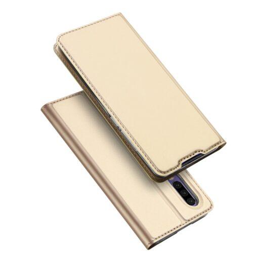 Huawei P30 kaaned kaarditaskuga DUX DUCIS kuldset värvi