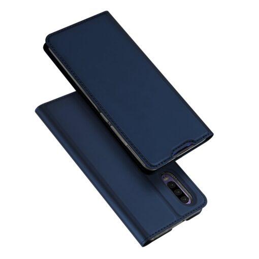 Huawei P30 kaaned kaarditaskuga DUX DUCIS sinist värvi