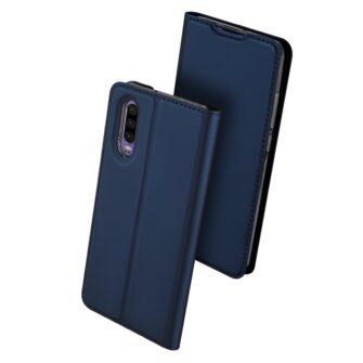 Huawei P30 kaaned kaarditaskuga DUX DUCIS sinist värvi 2