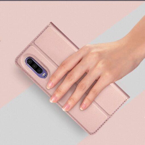 Huawei P30 kaaned kaarditaskuga DUX DUCIS sinist värvi 8