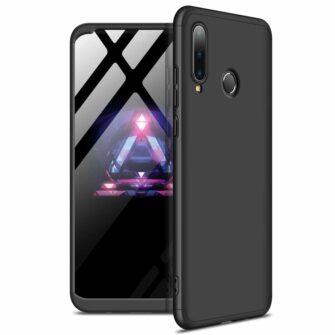 Huawei P30 lite 360 ümbris plastikust musta värvi