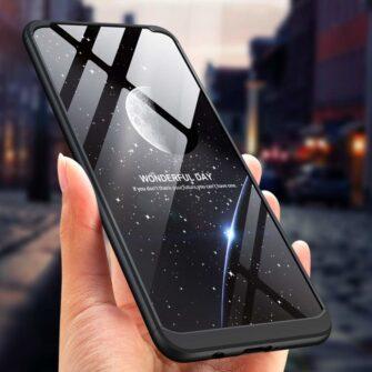 Huawei P30 lite 360 ümbris plastikust must 6