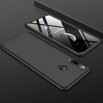 Huawei P30 lite 360 ümbris plastikust must 7