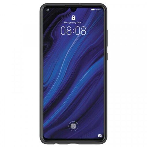 Huawei P30 silikooinst ümbris must originaal 2