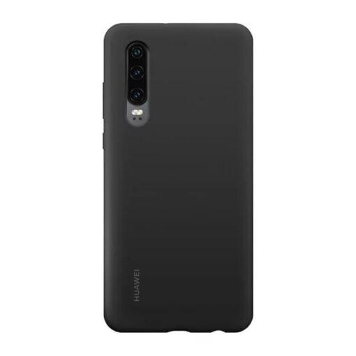 Huawei p30 silikoonist ümbris must