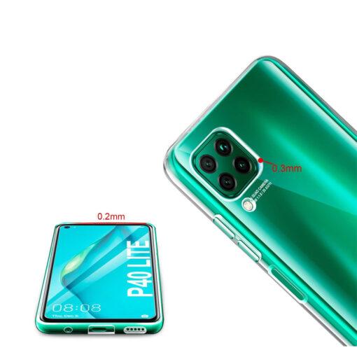 Huawei P40 Lite kaaned silikoonist läbipaistev eestt