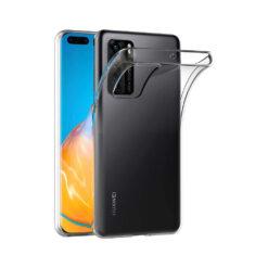 Huawei P40 kaaned silikoonist läbipaistvad