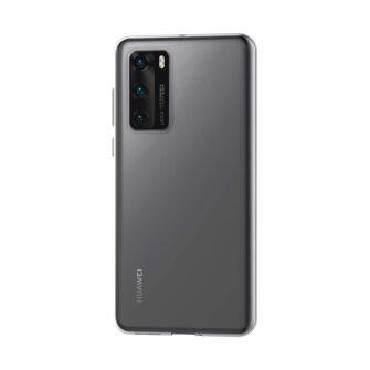 Huawei P40 kaaned silikoonist läbipaistev tagant