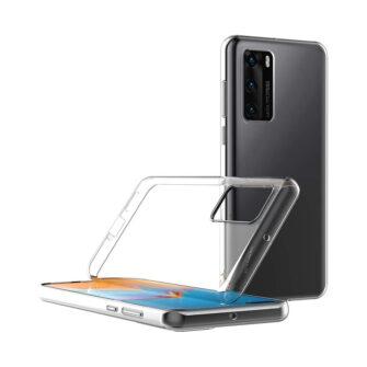 Huawei P40 kaaned silikoonist läbipaistev tagant küljelt