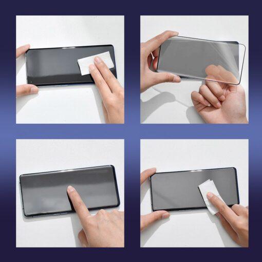 Huawei P40 kaitsekile täiserkaan ekraanikaitse 2 tk pakis 15