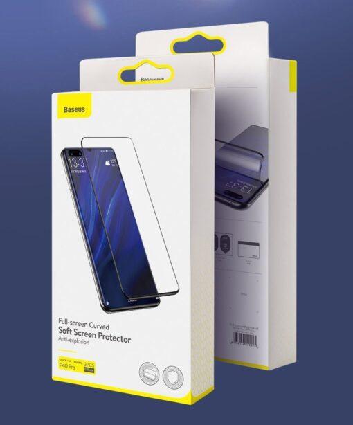 Huawei P40 kaitsekile täiserkaan ekraanikaitse 2 tk pakis 17