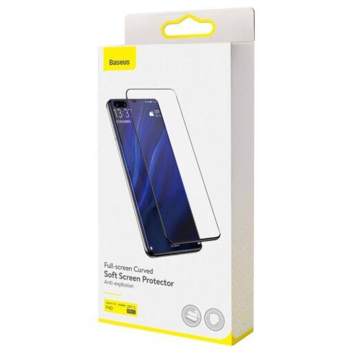 Huawei P40 kaitsekile täiserkaan ekraanikaitse 2 tk pakis 9