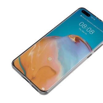Huawei P40 pro kaaned silikoonist läbipaistev eest
