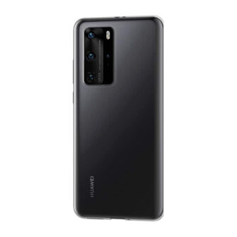 Huawei P40 pro kaaned silikoonist läbipaistev tagant