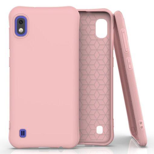 Samsung A10 ümbris silikoonist roosa