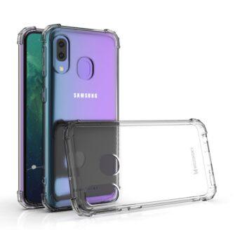Samsung A20E ümbris silikoonist tugevate servadega 14