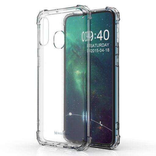 Samsung A20E ümbris silikoonist tugevate servadega 16
