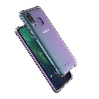 Samsung A20E ümbris silikoonist tugevate servadega 17