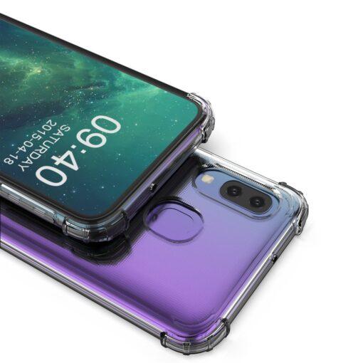 Samsung A20E ümbris silikoonist tugevate servadega 18