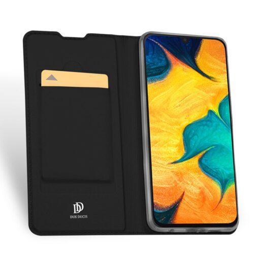 Samsung A20E kaaned kaarditaskuga musta värvi 1
