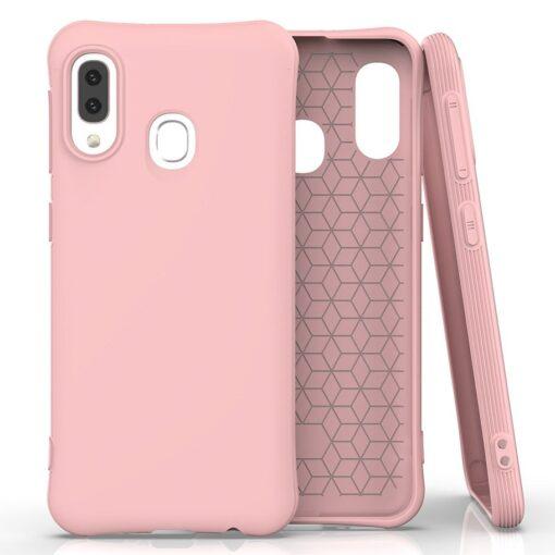 Samsung A20e ümbris silikoonist roosa