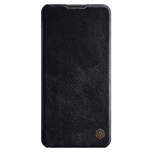 Samsung A21S kaaned nahast kaarditaskuga Nillkin Qin must 1